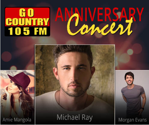 Go Country's Anniversary Show - CANCELED