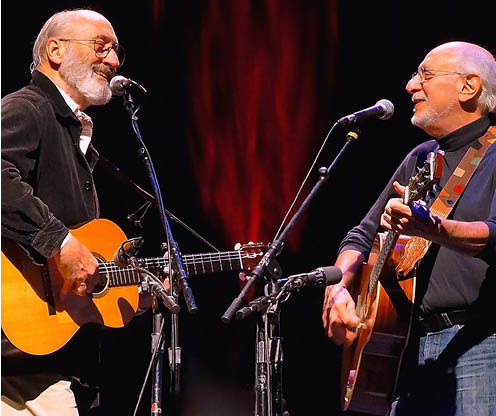Peter Yarrow & Noel Paul Stookey of Peter, Paul & Mary